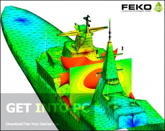 EMSS FEKO v7 Offline Installer Download