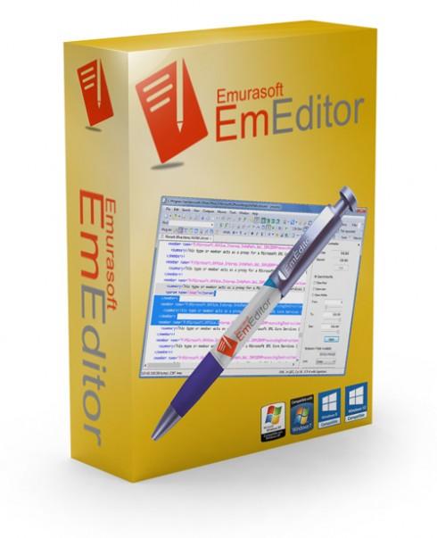 Emurasoft EmEditor Professional 17.8.0 Free Download