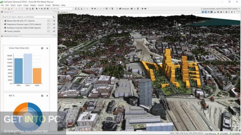 ESRI CityEngine 2016 Offline Installer Download-GetintoPC.com