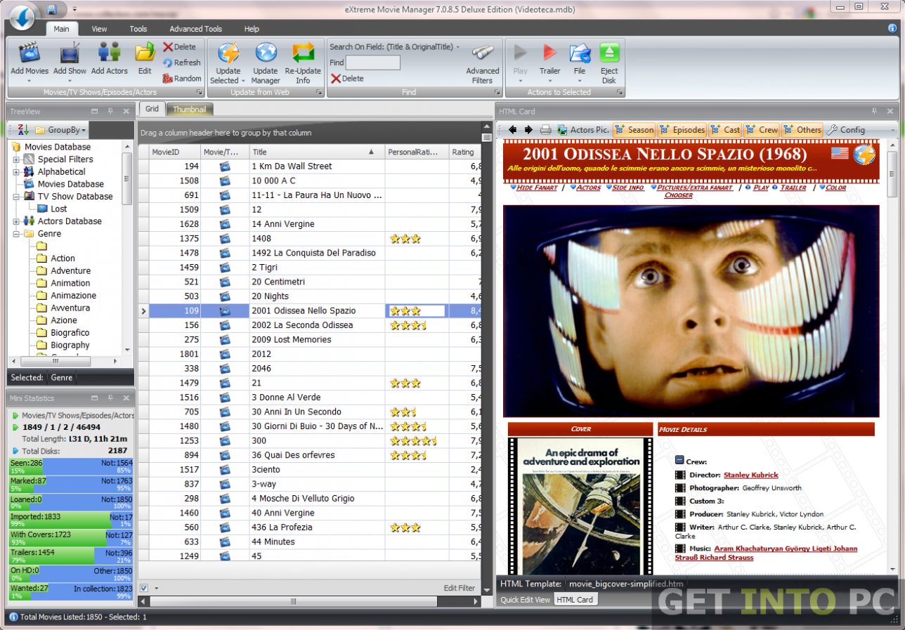 Extreme Movie Manager For Windows