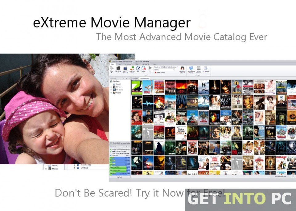 Extreme Movie Manager Software