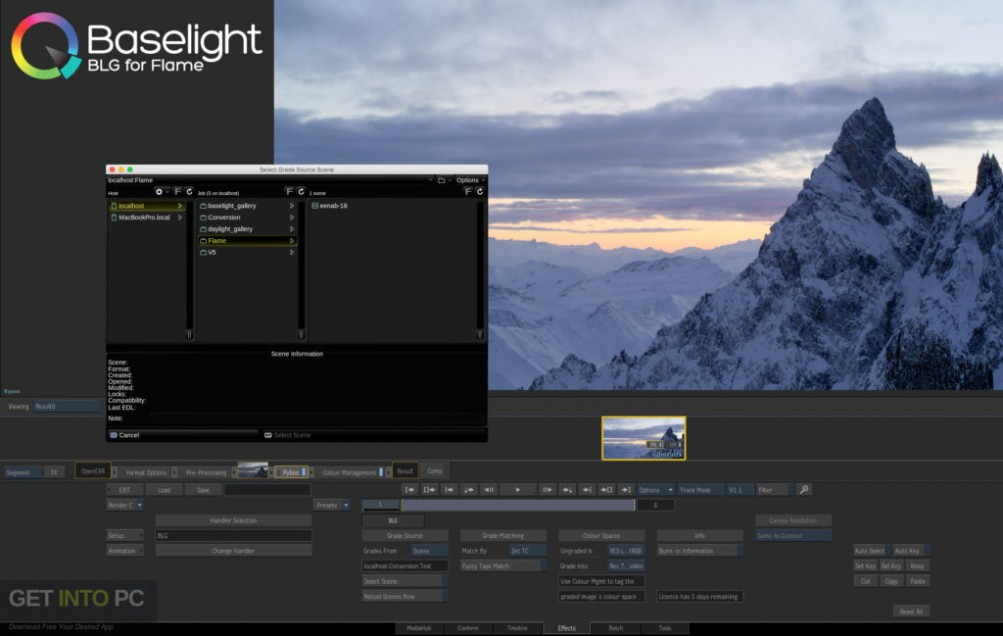 FilmLight Baselight for Avid and Nuke Offline Installer Download-GetintoPC.com