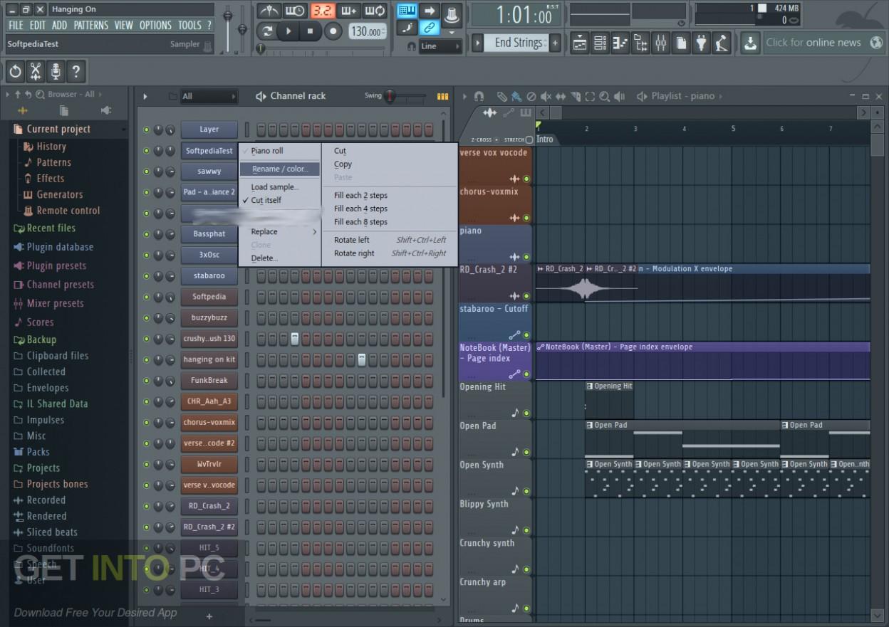 FL Studio 20.1.1 Jan 2019 Direct Link Download-GetintoPC.com