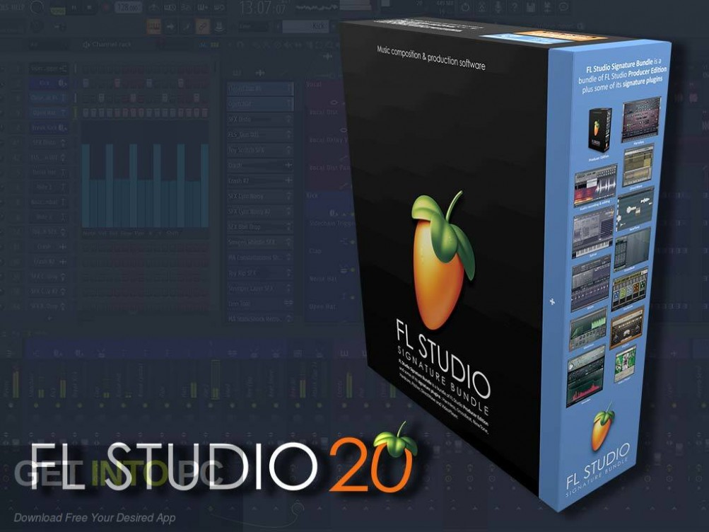 FL Studio Producer Edition 20 Free Download-GetintoPC.com