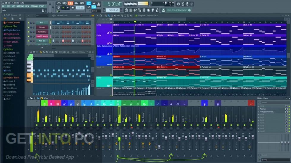 FL Studio Producer Edition + Signature Bundle v20.5 Offline Installer Download-GetintoPC.com