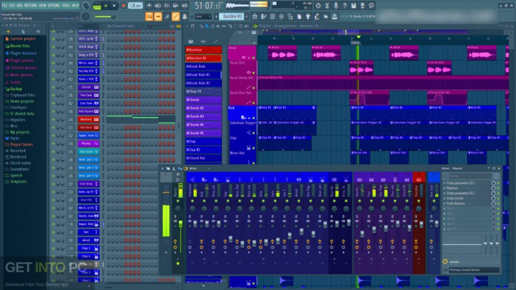 FL Studio Producer Edition + Signature Bundle v20.6 2019 Latest Version Download-GetintoPC.com