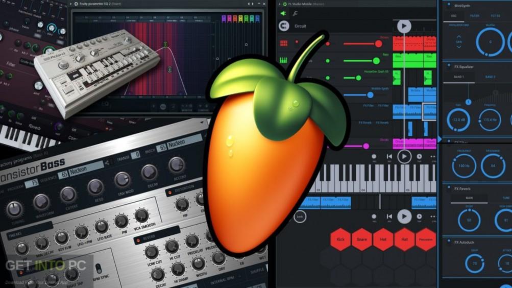 FL Studio XXL Producer Edition v8.0.2 + Autotune v5 Free Download-GetintoPC.com