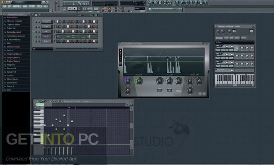 FL Studio XXL Producer Edition v8.0.2 + Autotune v5 Latest Version Download-GetintoPC.com