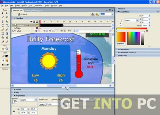 Download Flash MX 2004 Free