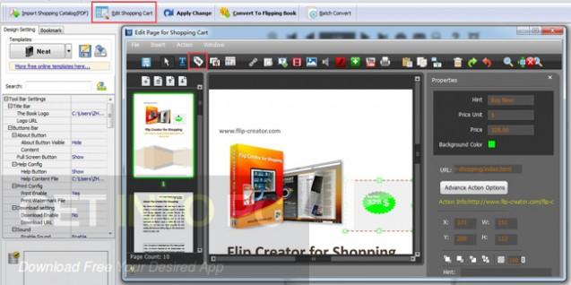 Flip Shopping Catalog Offline Installer Download