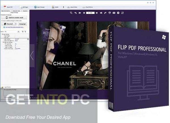 FlipBuilder Flip PDF Pro 2020 Free Download