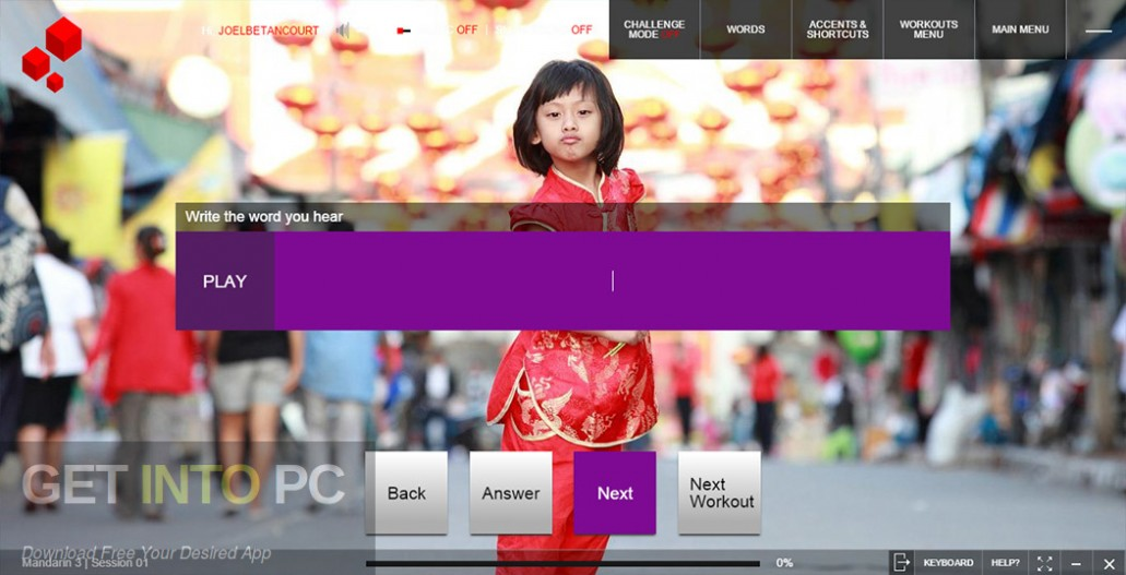 Fluenz F2: Mandarin 1 + 2 + 3, Chinese Language Course Offline Installer Download-GetintoPC.com