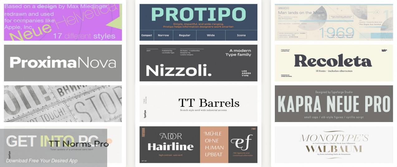 Fonts.com Full Dump 2018 Latest Version Download-GetintoPC.com