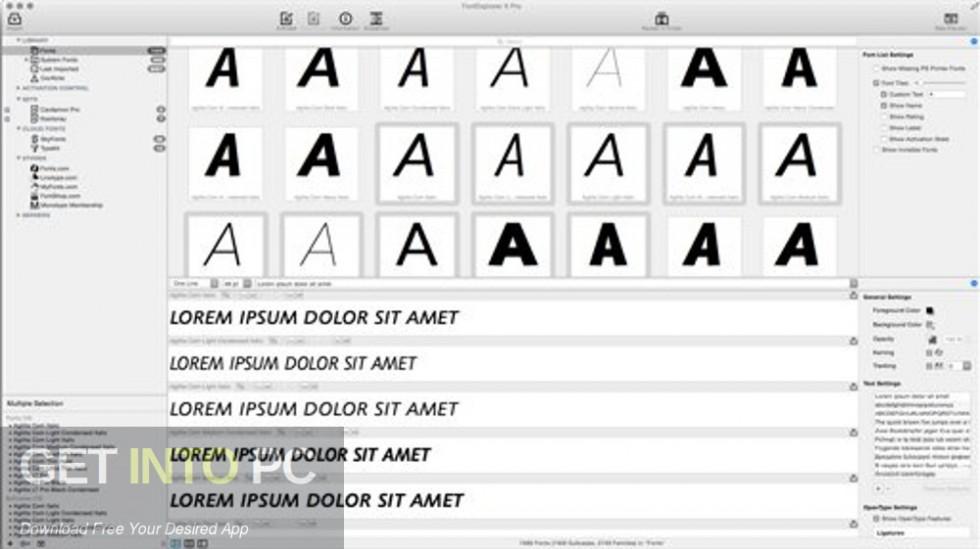 Fonts.com Full Dump 2018 Offline Installer Download-GetintoPC.com