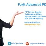 Foxit Advanced PDF Editor Free Download