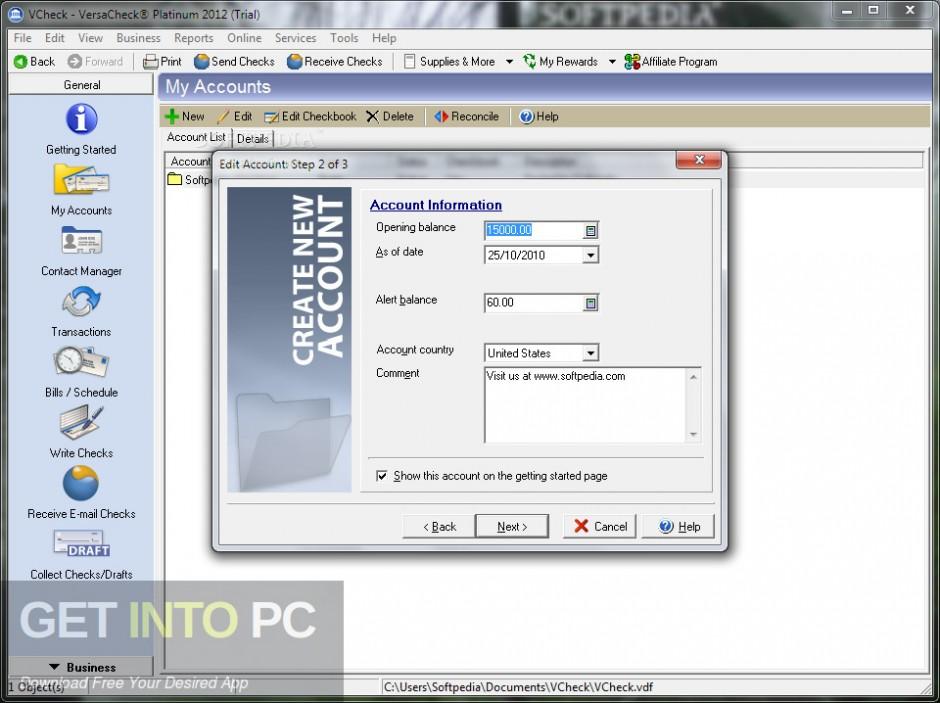 G7PS VersaCheck 2007 Platinum Direct Link Download-GetintoPC.com