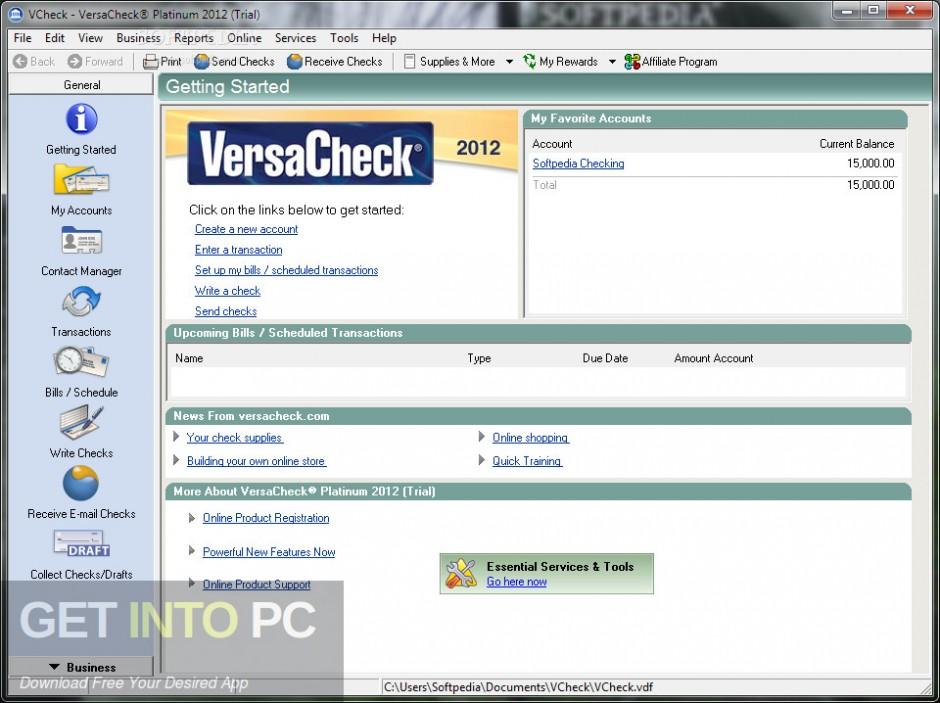 G7PS VersaCheck 2007 Platinum Free Download-GetintoPC.com