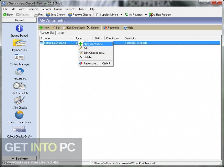 G7PS VersaCheck 2007 Platinum Latest Version Download-GetintoPC.com