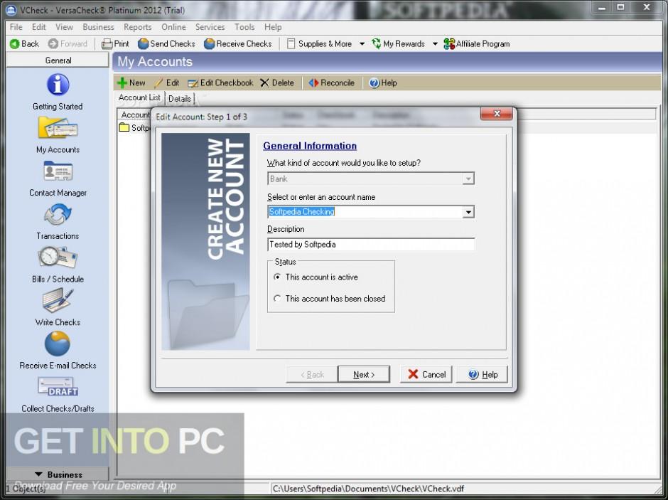 G7PS VersaCheck 2007 Platinum Offline Installer Download-GetintoPC.com