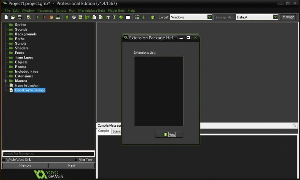 Game Maker Studio Ultimate 2.1.5.322 Direct Link Download