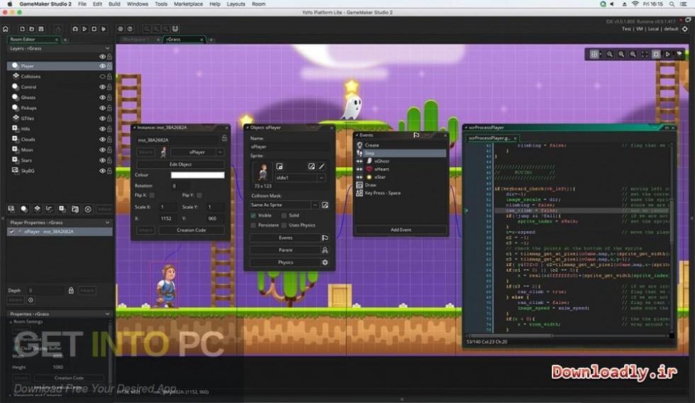 GameMaker Studio Ultimate 2.2.0.343 Latest Version Download-GetintoPC.com