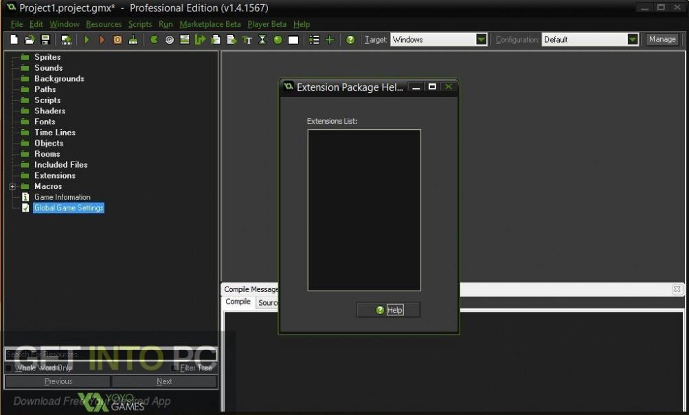 GameMaker Studio Ultimate 2.2.0.343 Offline Installer Download-GetintoPC.com