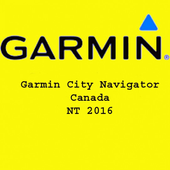Garmin City Navigator Canada NT 2016 Free Download