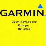 Garmin City Navigator Europe NT 2016 Free Download