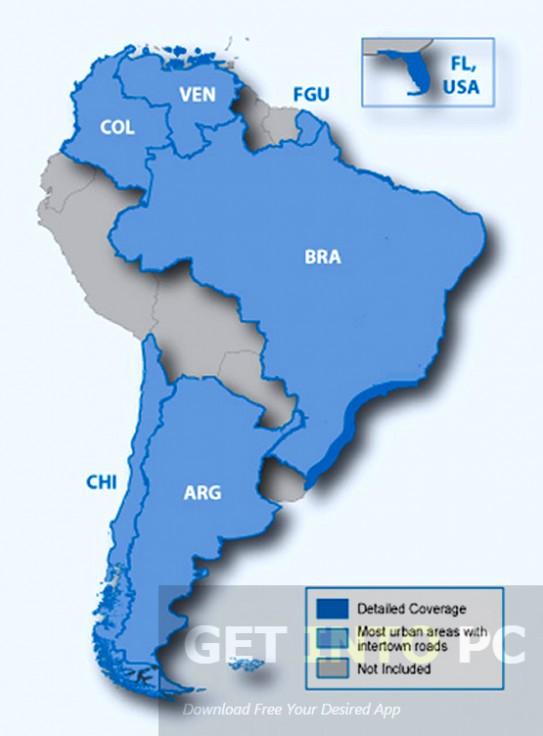 Garmin City Navigator South America NT 2016 Offline Installer Download