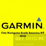Garmin City Navigator South America NT 2016 Free Download