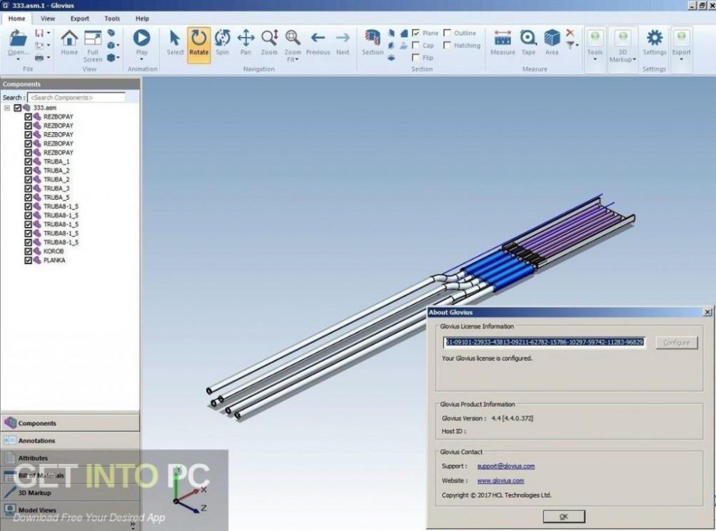 Geometric Glovius Pro 4.4.0.489 Offline Installer Download-GetintoPC.com