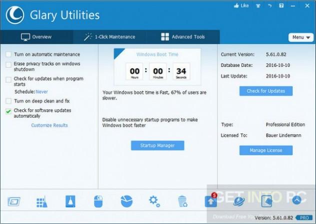 Glary Utilities Pro 5.90.0.111 + Portable Offline Installer Download