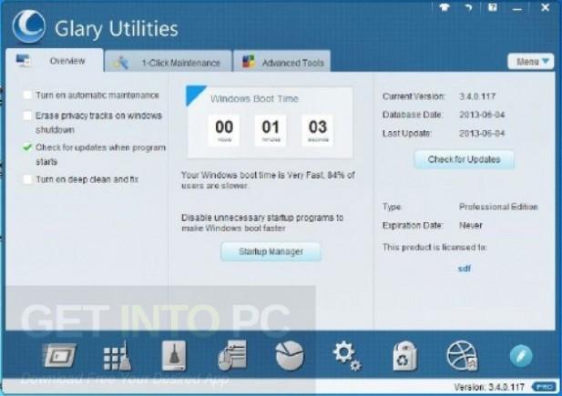 Glary Utilities Pro Portable Latest Version Download