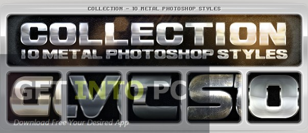 Graphicriver 50 Metal Text Effects Download For Free