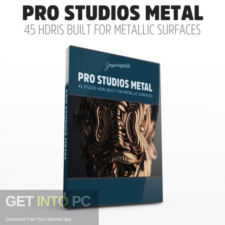 GreyscaleGorilla HDRI Pro Studios METAL 07 Free Download-GetintoPC.com
