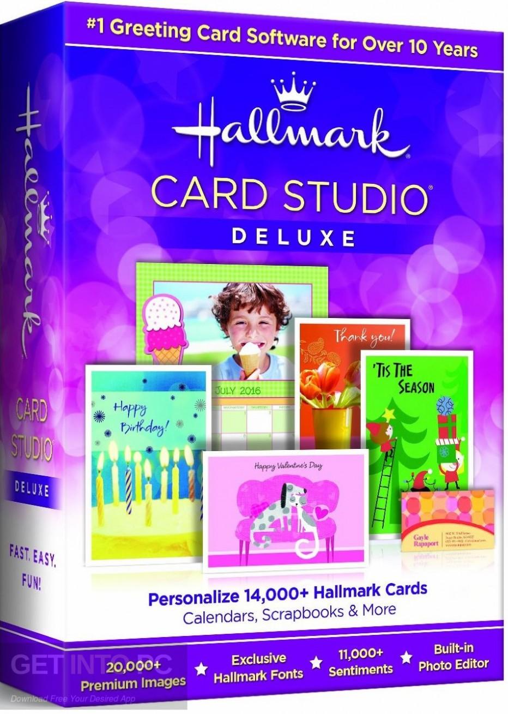 Hallmark Card Studio 2017 Deluxe Free Download