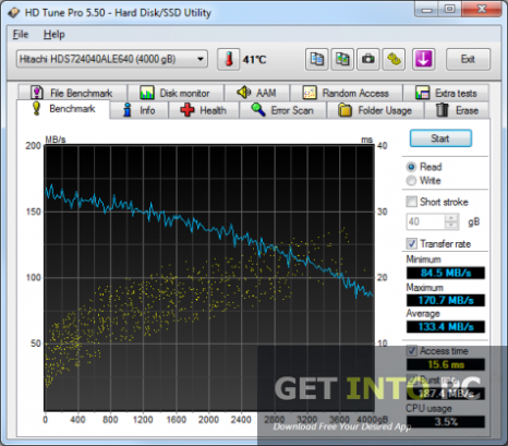 HD Tune Pro Free Download