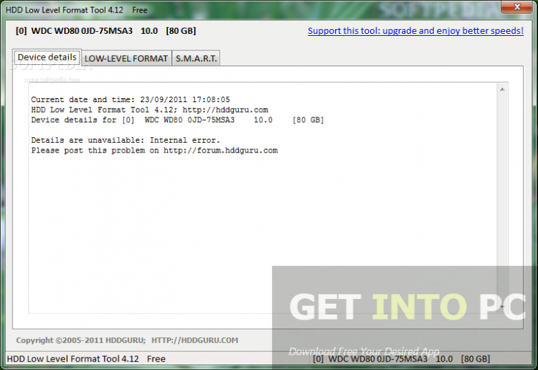 HDD Low Level Format Tool Portable Direct Link Download