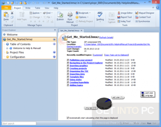 Help & Manual 7.3.3 Latest Version Download