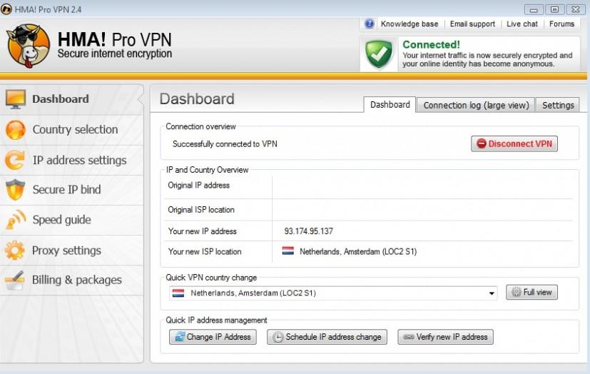 HMA Pro VPN free setup download