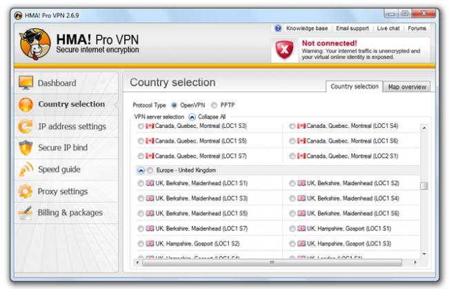 HMA Pro VPN Free Download full