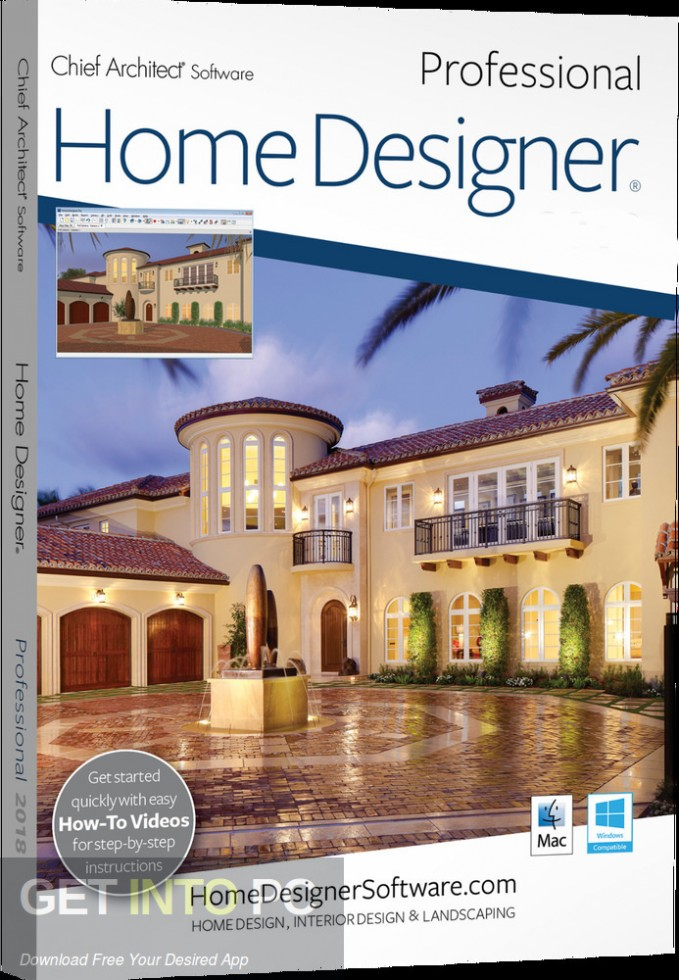 Home Designer Professional 2019 Free Download-GetintoPC.com