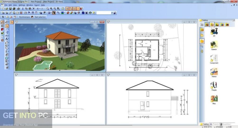 Home Designer Professional 2019 Offline Installer Download-GetintoPC.com