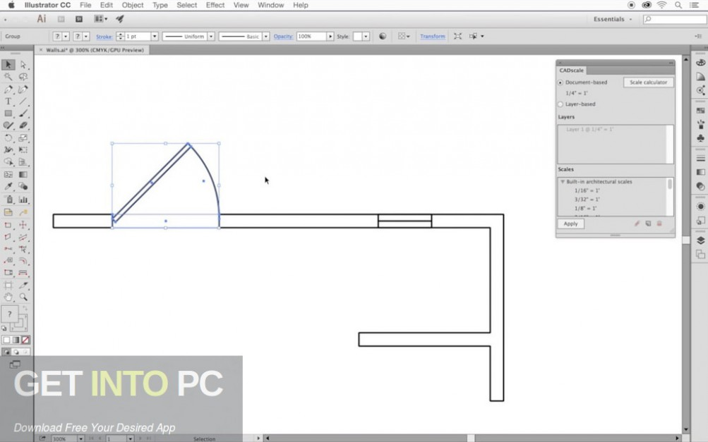Hot Door CADtools for Adobe_Illustrator for Mac Direct Link Download-GetintoPC.com