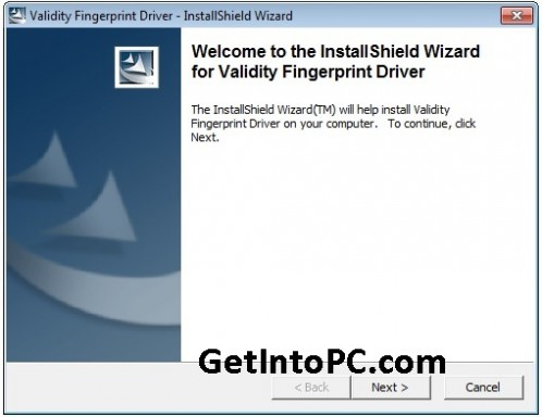 setup Fingerprint password on hp probook step 6