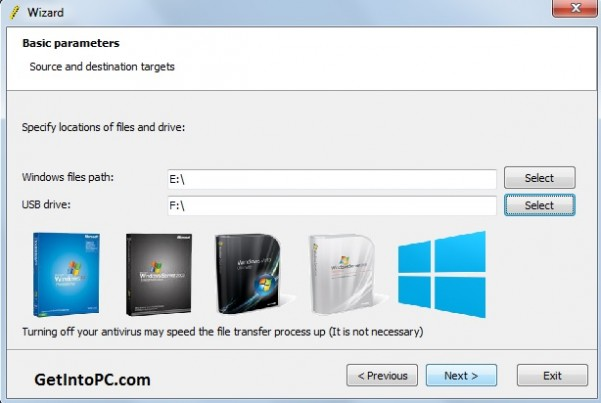 install windows xp with bootable usb