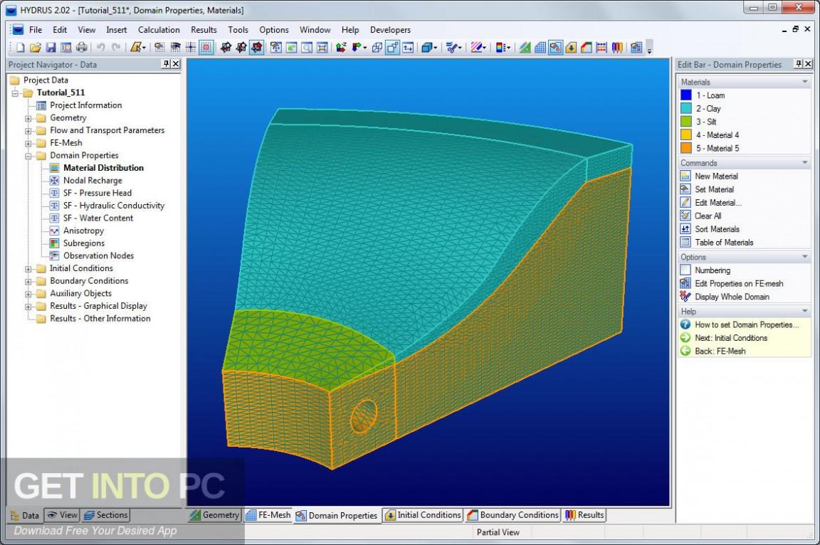 HYDRUS 2D 3D Pro Latest Version Download-GetintoPC.com