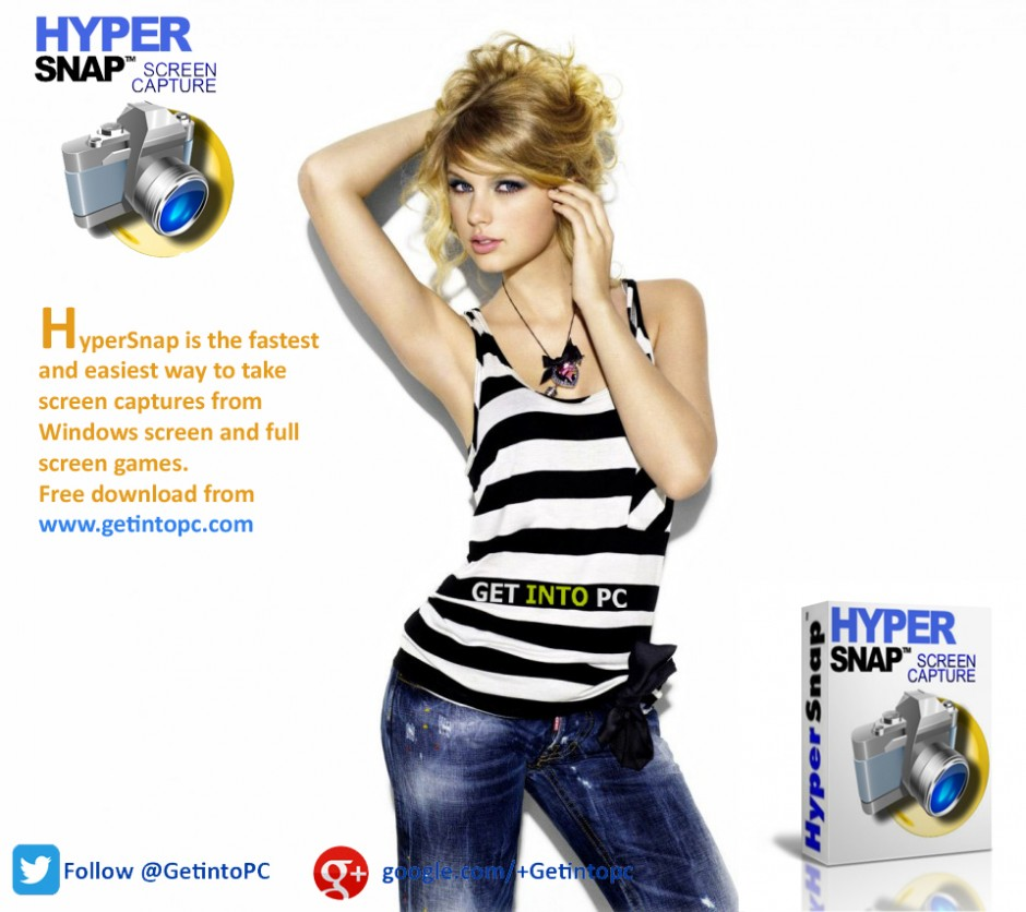 HyperSnap Screen Capturing Application