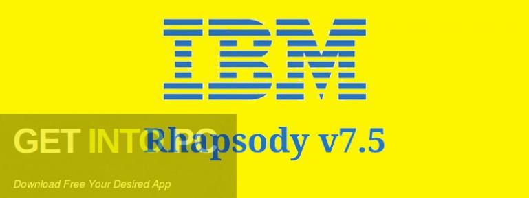 IBM Rhapsody v7.5 Free Download-GetintoPC.com