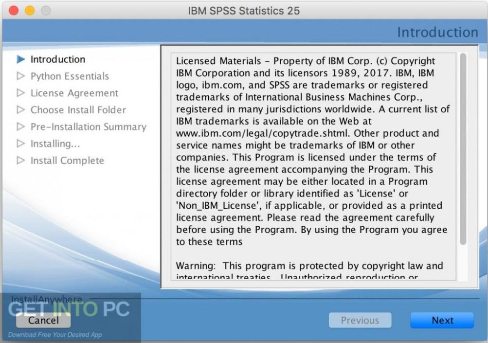 IBM SPSS Statistics 25 for Mac Direct Link Download-GetintoPC.com